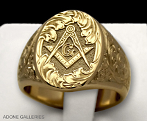 masonic lodge ring