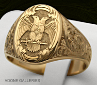 Scottish Rite Signet ring
